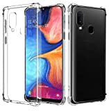 AIFIVE Samsung Galaxy A20E Clear Case, Soft TPU Cover with