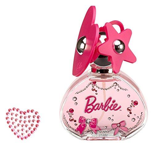 Air Val Barbie Geschenk-Set, 1er Pack (Eau de Toilette Parfum Spray 50 ml, Metallkoffer plus Tattoo, 1 Stück)