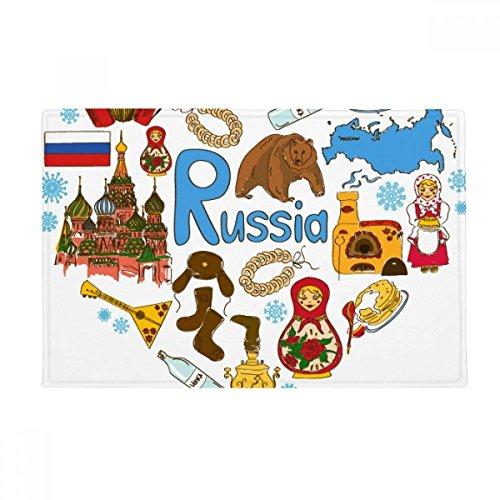 DIYthinker Russland Akkordeon Basilikum-Kathedrale Anti-Rutsch Boden Matte Teppich Badezimmer Wohnzimmer Küche Tür 40,6x 76,2cm Geschenk - Kathedrale Türen
