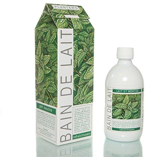 bain moussant bagnolatte latte e menta rinfrescante 500 ml