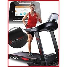Sportstech F48 cinta de correr profesional con 9 pulgadas Android WiFi 7,75 CV 20 kmh con soporte tabletas - plegable