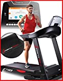 Sportstech F48 professional treadmill with 10,1 inch Android WiFi 7.75 HP 20 km/h with tablet holder - Pulse belt inclusive - foldable