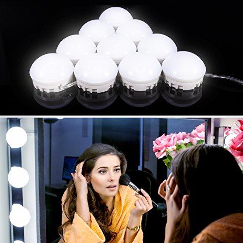 Aa Form Runde 4 Batterie Spiegel Faltbare Led Leucht Power X Make-up Spiegel Weiß Faltbare Niedrigen Haut Pflege Werkzeuge Schönheit & Gesundheit