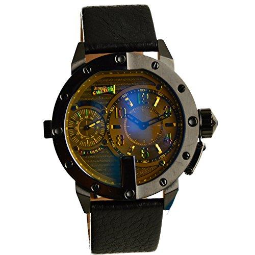 Jean Paul Gaultier Herren-Armbanduhr Analog Quarz Leder 8500406 (Leder Gaultier Jean Jeans Paul)