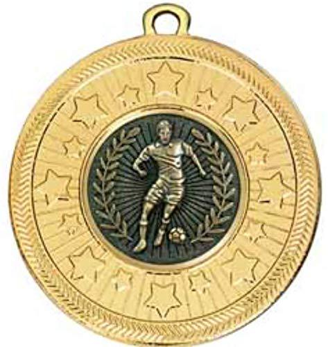 alisierte Medaille VF Star männlich, 50 mm Durchmesser, mit Band ()