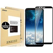 OnePlus 5T Protector de pantalla, Vigeer [0,3 mm, 2.5D] [Sin Burbujas] [Dureza de 9H] [Fácil Instalación] [HD claro] Protector de pantalla de vidrio templado para OnePlus One 5T