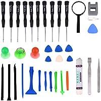 35 in 1 corredo di riparazione, Fone-Stuff® - professionista del cacciavite di riparazione kit di strumenti aperti per le riparazioni e ristrutturazioni tutti i telefoni cellulari, iPhone, iPad e tablet