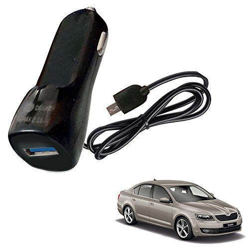 Vheelocityin Bluei 6 Month Warranty Car USB Charger Fast Charging USB Charger For Skoda Octavia