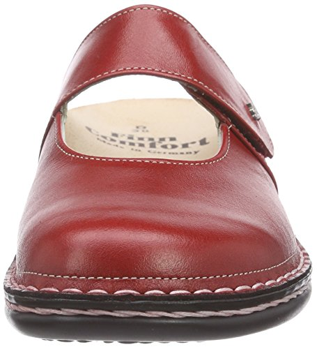Finn Comfort Stanford Damen Clogs Rot (Red)