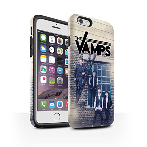 Officiel The Vamps Coque / Brillant Robuste Antichoc Etui pour Apple iPhone 6 / Pack 6pcs Design / The Vamps Séance Photo Collection Journal Intime