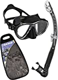 Cressi ELITE Scuba Mask Snorkel Set Adult - Cressi: Diving Equipment Since 1946 - Made in Italy