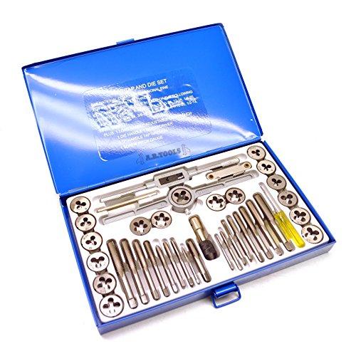 UNC/UNF imperial/af Spiel tarauds und Branchen SAE 40pc kit Reparatur Filetieren,526 /