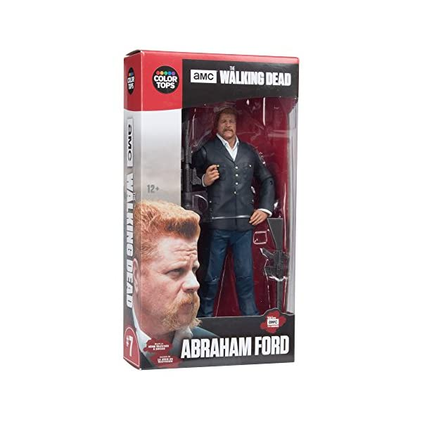 The Walking Dead Abraham Figura, 18 cm (MC Farlane MCFWD146769) 2