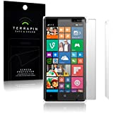 Terrapin - Nokia Lumia 830 Screen Protector Case / Guard / Film / Cover - 2 Pack