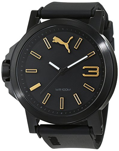 PUMA Womens Quartz Watch, Analogue Classic Display and PU Strap PU103462020