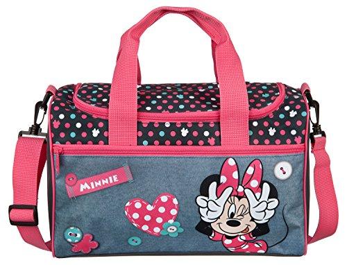 Undercover MIDS7293 Kindergartentasche, Disney Minnie Mouse, ca. 21 x 22 x 8 cm Sporttasche