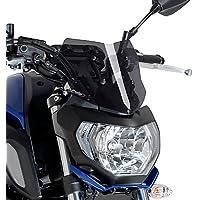 Motorbike Puig Windscreen Windshield Sport Yamaha MT-07 2018 dark smoke