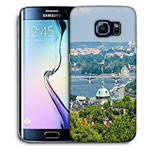 Snoogg Clean City Printed Protective Phone Back Case Cover For Samsung Galaxy S6 EDGE / S IIIIII