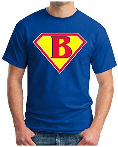 OM3 - BIG-BANG-SUPER-B - T-Shirt NERD SWAG ATOM PENNY GEEK EMO FUN SITCOM TBBT SARCASM PARODY, S - 5XL Royalblau
