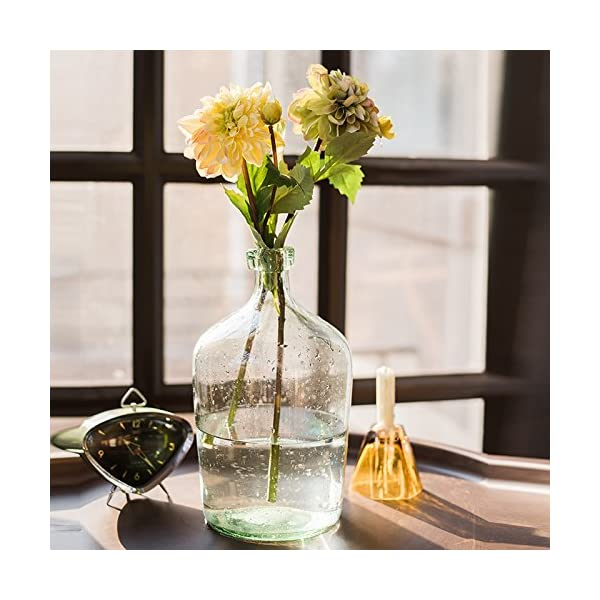 yueyue947 Decoración Floral del Festival de la Boda de la Flor/de la Flor Artificial de la Dalia/de la Falsa de la Dalia…
