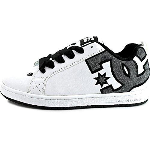 DC Shoes Court Graffik, Chaussures de skate homme white