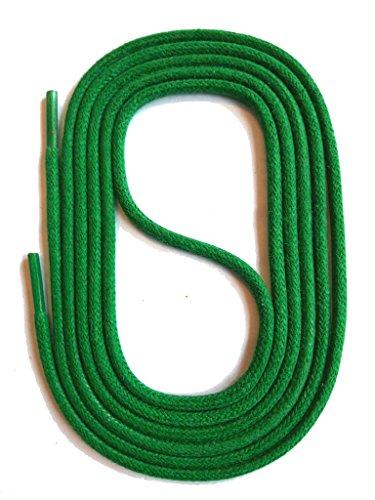 Snors lacci colorati rotondi cerate verde 75cm 29.5