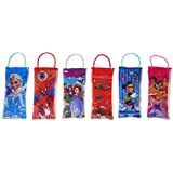 Parteet Stationery(s)(Bag)6Pc Birthday Party Return Gifts-Pack Of 6 Mix Stationery Kit Set In A Bag For Kids - Assorted Colours