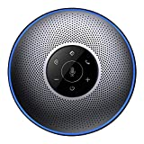 Bluetooth Freisprecheinrichtung - Konferenztelefon eMeet M2 Wireless Lautsprecher 8M fernfeld Konferenzsystem für Skype, VoIP-Kommunikation mit dem Smartphone, Laptop oder PC Plug-and-Play