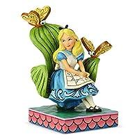 تمثال ديزني تقليدي من شركة إينيسكو بواسطة جيم شور أليس في بلاد العجائب، 13 سم، متعدد الألوان