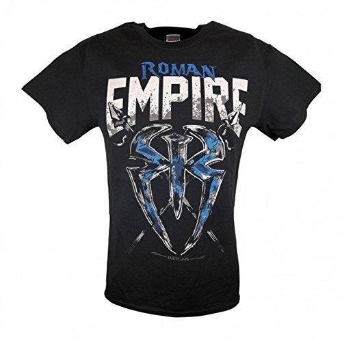 CAGO T-Shirt Roman Reigns Empire Spare No One Spear Everyone Retro Bis 5XL !, Gr.:L (Roman Reigns Kostüm)