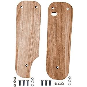 Trittbretter für Simson Schwalbe aus Holz