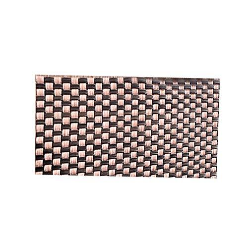 Leisial Sets de Table Napperons Tressés en PVC Tapis de Table Resistant à la Chaleur Tapis d'Isolation Antidérapant Thermique