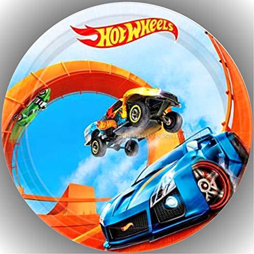er Tortenbild Geburtstag Hot Wheels T13 ()