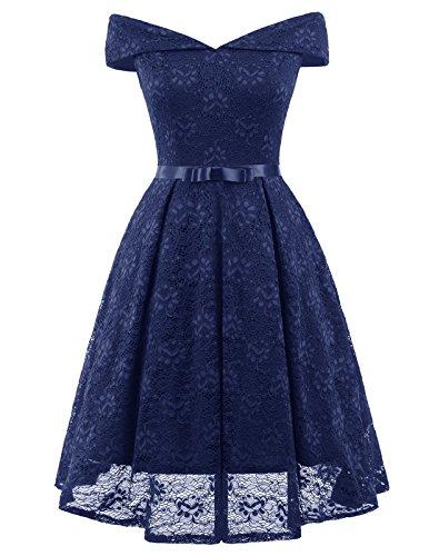 Belle Poque Sommerkleid Kurz Spitze Kleid Audrey Hepburn Kleid Rockabilly Kleid Cocktailkleid...