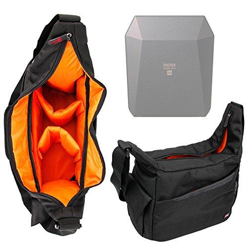 Galleria fotografica Zaino / Borsa A Tracolla Per Stampante portatile Fujifilm Instax Share SP-3 SQ - Nylon Di Alta Qualità - Resistente All'acqua - DURAGADGET
