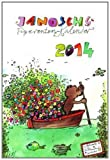 Tigerentenkalender 2014: 12 Monatsblätter mit fröhlich-bunten Janosch-Bildern und Kalendarium. Dezemberblatt als Adventskalender