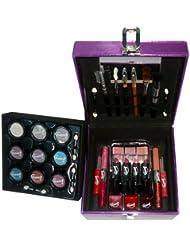 Gloss! - L0056-Violet - Mallette de Maquillage - 34 Pièces de Cosmétiques
