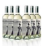 San Jamón Guerra de Pura Cepa Blanco Coupage Godello y Doña Blanca Bierzo - Paquete de 6 x 750 ml - Total: 4500 ml