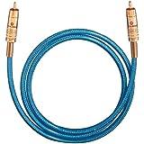 Oehlbach NF 113 DI  Digitales Audio-Cinchkabel  blau  1.00 m