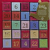 English Tea Shop Organic Numerical Advent Calendar 25 Pyramid Tea Bags