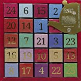English Tea Shop Organic Numerical Advent Calendar 25 Pyramid Tea Bags