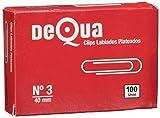 Dequa 13683 - Clips, caja de