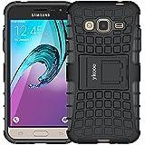 ykooe Cover Samsung Galaxy j3 2016, Silicone Custodia Samsung j3 2016 Doppio Strato a Ibrida Phone Caso per Samsung Galaxy Galaxy J3 (2016)
