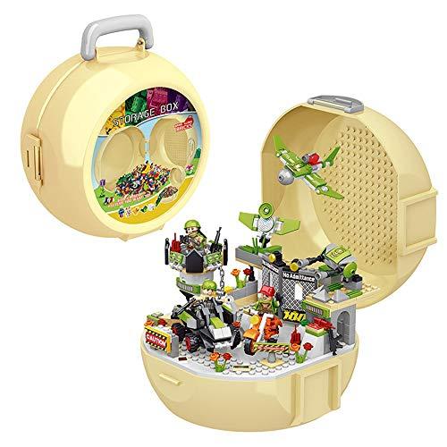 Chengzuoqing Bausteine Spielzeug für Raumschiff 323 Pz Briketts Marfare Bausteine für die Wohnung, Multi-Colored