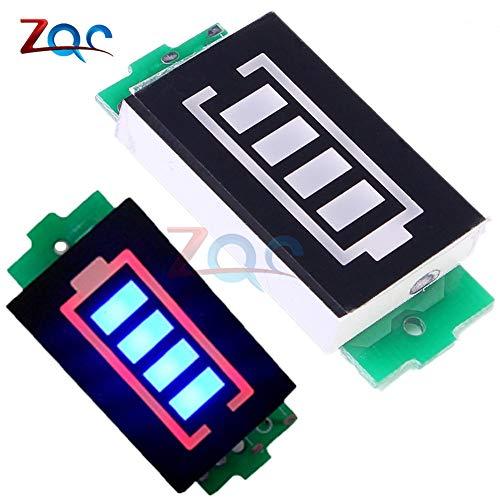 3S 3 Serie Lithium-Batterie-Kapazität Indikator-Modul 12,6 V Blue Display Elektro-FahrzeugBatterie-Power-Tester Li-Po Li-Ion Elektro-tester