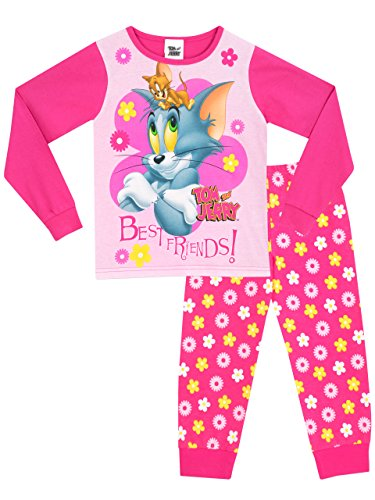 Tom & Jerry - Pijama para niñas - Tom y Jerry - 2 - 3 Años