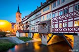 druck-shop24 Wunschmotiv: Historic City Center of Erfurt
