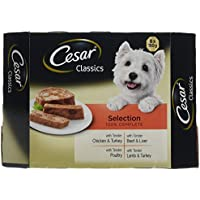 Cesar Classics  - Comida para perros, selección mixta, 8 x 150 g, paquete de 3