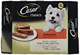 Best Cesar Dog Foods - Cesar Classics Dog Trays Mixed Selection, 8 x Review