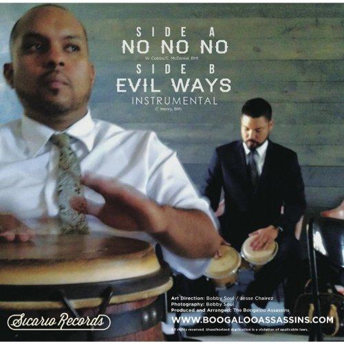 No No No B/W Evil Ways [Instru [Vinyl LP] (Assassins Boogaloo)